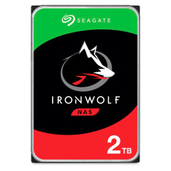 Disco Rígido Seagate IronWolf 2TB - 3.5´ 128MB (ST2000VN004)