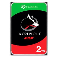 Disco Rígido Seagate IronWolf 2TB - 3.5´ 128MB (ST2000VN004)