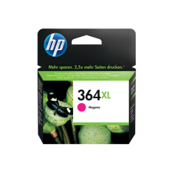 Tinteiro HP 364 XL Original Magenta (CB324EE)
