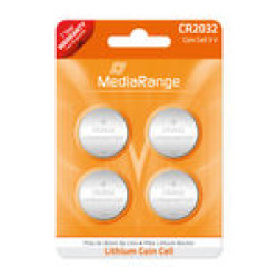 Pilhas de Lítio MediaRange Cell | CR2032 3V - Pack 4   - ONBIT