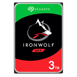 Disco Rígido Seagate IronWolf 3TB - 3.5´ 64MB (ST3000VN007)