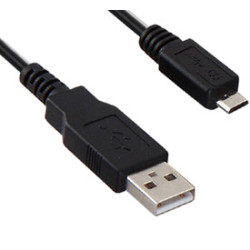 Cabo USB para Micro USB (OTG) 1.8m Gembird  CCP-MUSB2-AMBM-6 - ONBIT