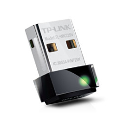 TP-Link Nano Adaptador USB Wireless N de 150Mbps TL-WN725N
