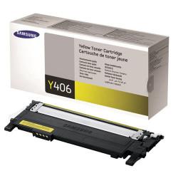 Toner Samsung Original CLT-Y406S Amarelo (CLT-Y406S/ELS)