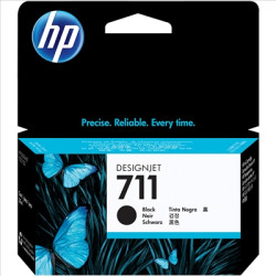 Tinteiro HP 711 Preto Original (CZ129A)