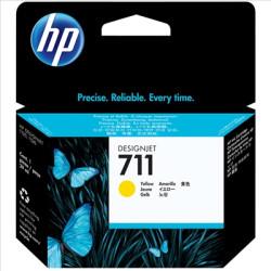 Tinteiro HP 711 Amarelo Original (CZ132A)