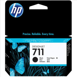 Tinteiro HP 711 XL (80ml) Preto Original (CZ133A)