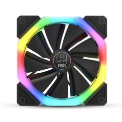 Ventoinha 120mm Nox 1100RPM S-Fan RGB 3 Pinos