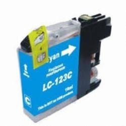 Tinteiro Brother Compatível LC123 XL Azul (V3)   - ONBIT