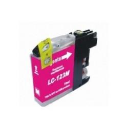 Tinteiro Brother Compatível LC123 XL Magenta (V3)   - ONBIT