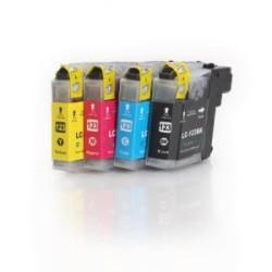 Conjunto 4 Tinteiros Compatíveis Brother LC121 / LC123 (V3)   - ONBIT