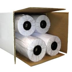 Rolo de Papel Plotter A0 914mm x 50 metros - Pack 4 unidades