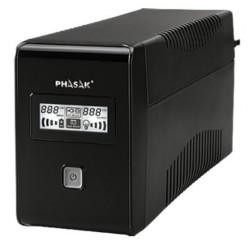 UPS Phasak 850VA LCD USB+RJ  PH9485 - ONBIT