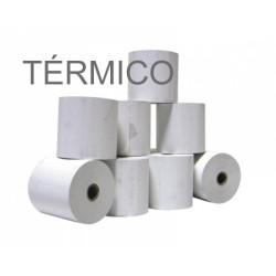 Rolos de papel 4Office térmico 57x35x11 - Pack 10