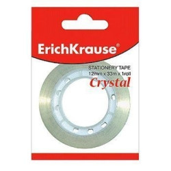 Fita adesiva cristal (em blister) - Erichkrause - 33X12   - ONBIT