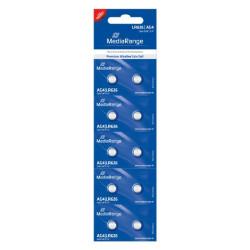 Pilhas Mediarange Alcalinas Coin Cell AG4 | LR626 - Pack 10  MRBAT111 - ONBIT