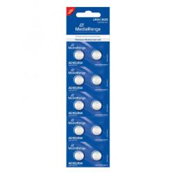 Pilhas Mediarange Alcalinas Coin Cell AG10 | LR54 - Pack 10  MRBAT112 - ONBIT