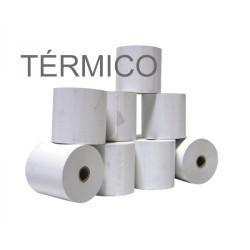 Rolos de papel 4Office térmico 110x50x11 - Pack 9   - ONBIT