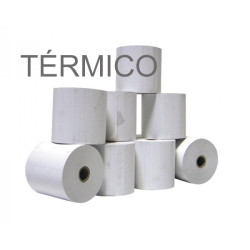 Rolos de papel 4Office térmico 110x50x11 - Pack 8