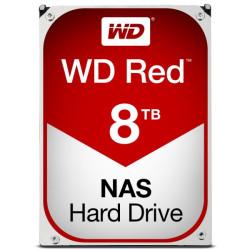Disco Rígido Western Digital RED 8TB 3.5´ 256MB NASware (WD80EFAX)