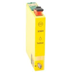 Tinteiro Compatível Epson 33 XL Amarelo, T3364  C13T33644010 - ONBIT