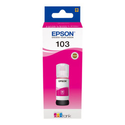 Recarga de Tinta 103 Original Epson Magenta (C13T00S34A)