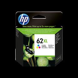 Tinteiro HP 62 XL Tricolor Original (C2P07AE)
