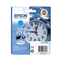 Tinteiro Epson 27 XL Azul Original Série Despertador (C13T27124012)