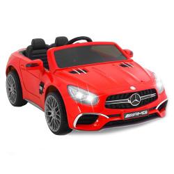 Carro Elétrico Mercedes SL65 12V Bateria c/ Comando Vermelho