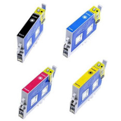 Conjunto de 4 Tinteiros Compatíveis Epson T0441/2/3/4   - ONBIT