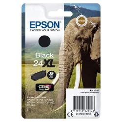 Tinteiro Epson 24 XL Preto Original Série Elefante (C13T24314010)