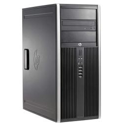 Computador Recondicionado HP 8200 Tower Intel i3-2100, 4GB, 250GB, DVD, Windows 7 Pro