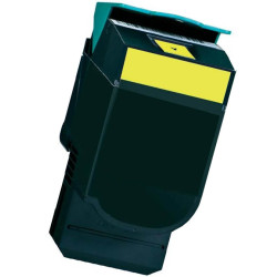 Toner Lexmark CS310 / CS410 / CS510 Amarelo Compatível (70C2HY0/702HY)