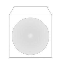 Bolsas Papel com Adesivo para CD/DVD individuais - Pack 100  BOX62 - ONBIT