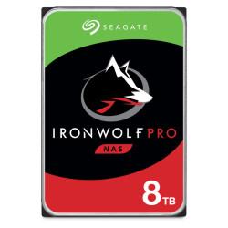 Disco Rígido Seagate IronWolf 8TB PRO - 3.5´ 256MB (ST8000NE001)