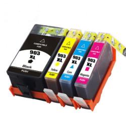 Conjunto 4 Tinteiros Compatíveis HP 903 XL