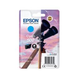 Tinteiro Epson 502 Azul Original Série Binóculos T02V2 (C13T02V24010)