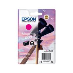 Tinteiro Epson 502 Magenta Original Série Binóculos T02V3 (C13T02V34010)