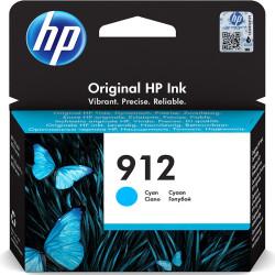 Tinteiro HP 912 Original Azul (3YL77AE)