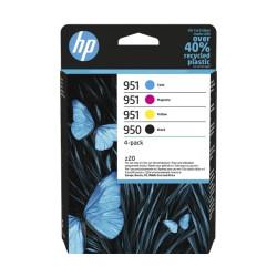 HP 950 / 951 Combo Pack 4 Tinteiros Originais 6ZC65AE