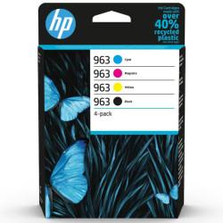 HP 963 Combo-Pack 4 Tinteiros Originais 6ZC70AE