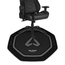 Tapete de Cadeira Alpha Gamer Octan Preto