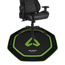 Tapete de Cadeira Alpha Gamer Octan Verde