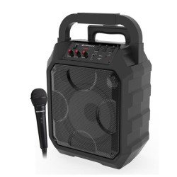 Coluna Portátil Karaoke Coolsound Party Boom 30w