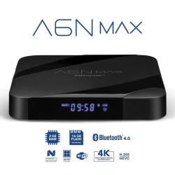 Receptor Amiko A6N MAX IPTV 4K Android 7.1 WiFi 5G