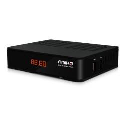 Receptor Amiko Mini 4K.UHD Combo S2X+T2C Satélite/Cabo