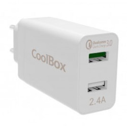 Carregador Quick Charger 2 Portas USB Coolbox