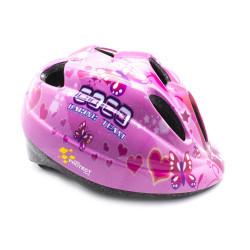 Capacete Proteção Infantil Rosa Tamanho M (52-56cm)