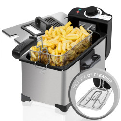 Fritadeira Cecotec CleanFry 3L 2000w