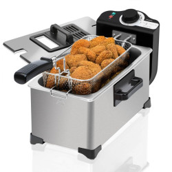 Fritadeira Cecotec CleanFry 3L Full Inox 2000w